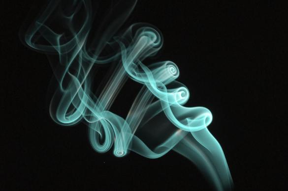 Fotografiar humo en casa